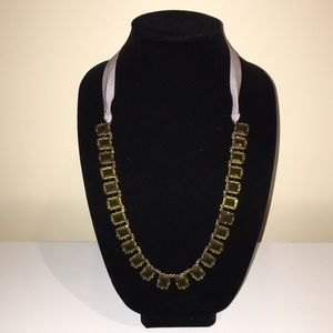 J Crew necklace with tie back